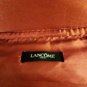 Lancome Makeup - Lancome leather makeup bag